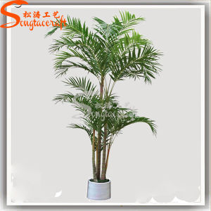 Decoração Planta Bonsai artificial de Palmeira