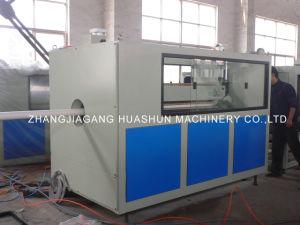 Tubo de PVC doble línea de producción/máquina de hacer tubería de PVC