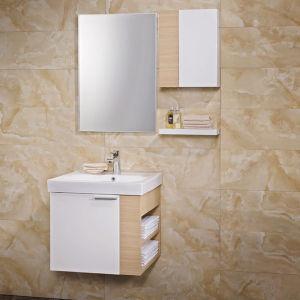 Gabinete de banheiro em madeira pendurado em madeira compensada Oppein Modern (OP13-042-58)