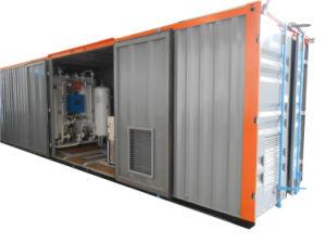 De beweegbare Generator van de Zuurstof met Hoge Zuiverheid voor het Vullen van Cilinders