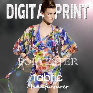 El tejido de poliéster impreso Digital/Digital Tejido de poliéster/digitales impresas por sublimación de tejido de impresión