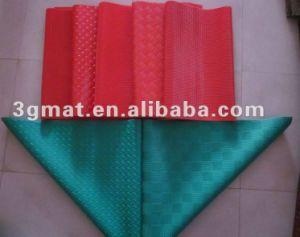 Antifatigue Mat Stripe Revêtement de sol en vinyle Tapis d'hôtel Tapis en caoutchouc
