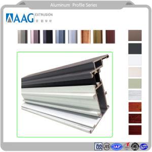 Profilo di alluminio di ottimo rendimento per la finestra ed il portello della stoffa per tendine