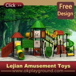 Les enfants Aire de jeux de plein air avec tunnel diapositive (X1274-5)