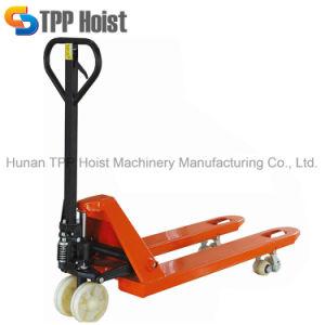 carrello elevatore manuale della mano idraulica 3000kg con la rotella dell'unità di elaborazione