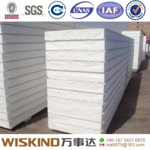 カラー屋根および壁のための鋼鉄によって絶縁されるEPSサンドイッチパネル
