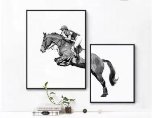 ホーム装飾の馬の動物の壁掛けの装飾的な絵画