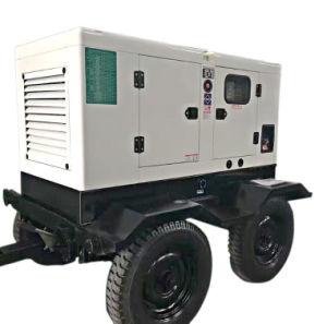 쉬운 운영과 관리 저잡음 움직일 수 있는 디젤 엔진 발전기 세트