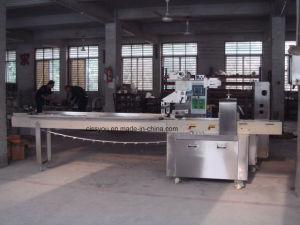 В горизонтальном положении Питание торт печенье для выпечки хлебобулочных закуска упаковочные машины