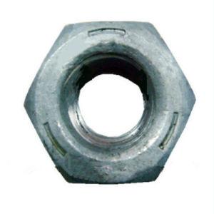 Comme l'1252 haute résistance en acier en alliage lourd de l'écrou hexagonal