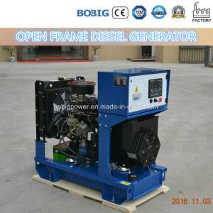 8kw 10kVA Quanchai 열려있는 디젤 엔진 발전기 세트