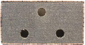 Gato del juguete Cat Scratch agujero de la placa bola grande Caja de agarre de plancha