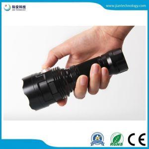 Зарядка через USB 3-18ПК под руководством по заказу на заводе оптовой высокий люмен светодиодный фонарик