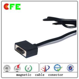習慣4pinの携帯電話のための磁気ケーブルコネクタ
