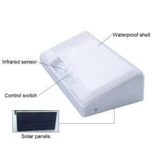 La energía solar de 48 LED LED Impermeable IP65 Sensor de movimiento al aire libre Jardín de luz de pared