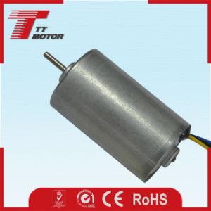 28 mm a baja velocidad del motor eléctrico DC sin escobillas de 24 V.