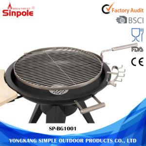 Barbecue portatile del carbone di legna del BBQ del fumatore esterno della griglia