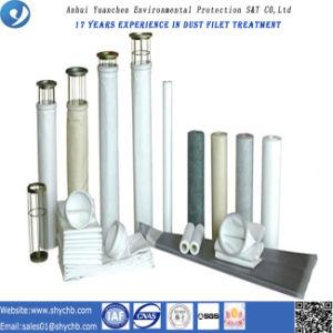 Sacchetto filtro non tessuto acrilico del collettore di polveri per la pianta dell'asfalto della miscela