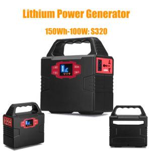 beweglicher Minigenerator 100W mit Sonnenkollektor-Stromversorgung