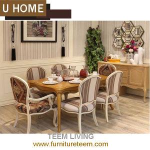Sala da pranzo francese di stile della mobilia domestica classica ...