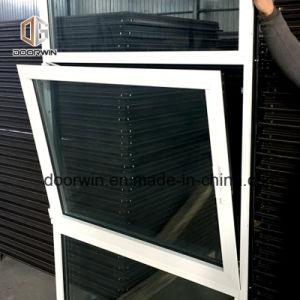 Finestra di alluminio nera bianca