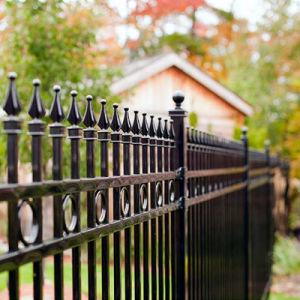 China Garten Metallzaun Garten Metallzaun China Produkte Liste De