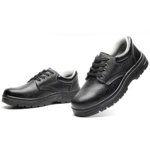 Bajo el tobillo Puntera de zapatos de seguridad para los hombres