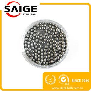 Usine RoHS d'alimentation de l'AISI304 Bille en acier plaqué nickel