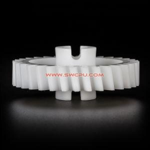 Mc 나일론 플라스틱 기어/금속 기어/스테인리스 내부 기어를 기계로 가공하는 작은 정밀도 CNC