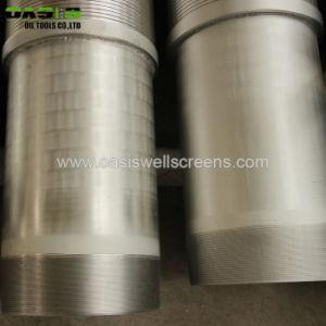 Draht-Wasser-Quellfilter des Edelstahl-V für industriellen Gebrauch