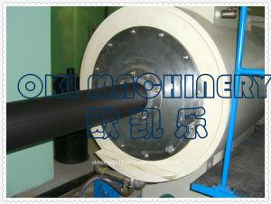 プラスチック機械PEの前絶縁体のジャケットの管の放出ライン
