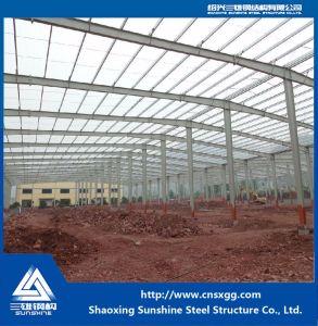 Estructura de acero Prefabricted edificio utilizado en la construcción de viviendas