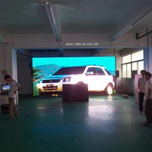 P5フルカラーの屋内TVの壁LEDを使用して段階