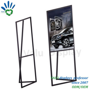 Cremagliera d'acciaio del basamento del metallo per la pubblicità della visualizzazione di promozione (VMP-502)