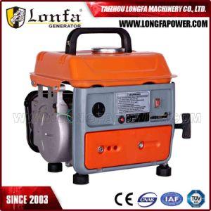 Buckcasa Lonfa pequeños y portátiles de 650W 950 Generador de gasolina
