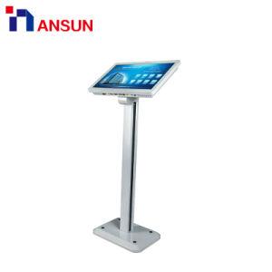 Alle auf einem kapazitiven multi Touch Screen des Standplatz-LED für das Bekanntmachen der Bildschirmanzeige