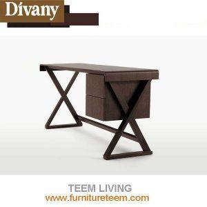 Современный европейский дизайн гостиной деревянный стол считывания