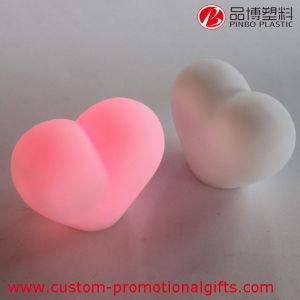Su uso en casa Mini corazón romántico Multi-Colored nocturna LED