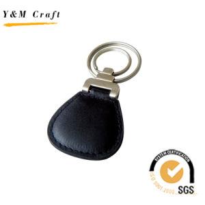 2 원형을%s 가진 특별한 사업 가죽 Keychain (Y02162)