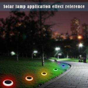 芝生のデッキのテラスのための多彩なRGBの屋外の照明太陽ライト