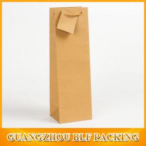 Роскошный нестандартного формата бумаги бутылку вина Bag Рождество