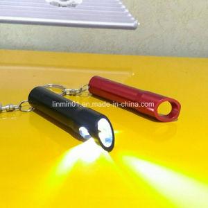 3 LED Lampe torche en aluminium personnalisé avec le trousseau pour cadeau de promotion