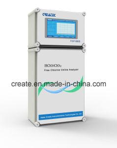 Analisador de cloro total, cloro livre, o pH, a integração do sistema de fluxo