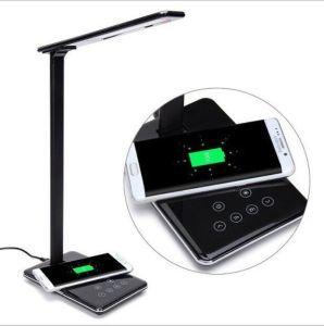 LED-Schreibtisch-Lampe mit Qi-drahtloser Aufladeeinheits-Auflage für Apple iPhone/Sumsung