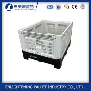 Conteneurs de stockage de palettes en plastique HDPE avec couvercles
