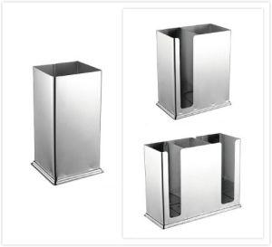 Retangular palillos de acero inoxidable soporte para Restaurante (151201/151202/151203)