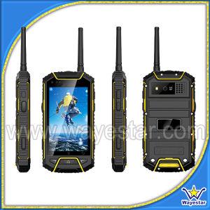 W932 Resistente Android Phone Ptt quad core de GPS de 4 polegadas