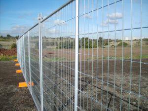 熱浸された電流を通された溶接された鉄の金網の一時塀のパネル