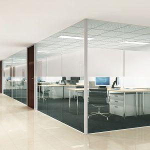 Immeuble de bureaux moderne amovible de la conception des murs en verre mur de verre de la salle de réunion