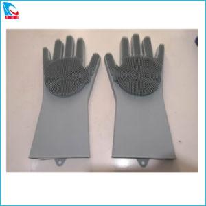 Eco-Friendly silicone resistente ao calor luvas de limpeza